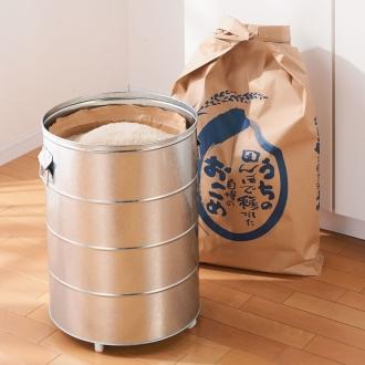 20公斤(大米储料器(带量杯)带脚轮)