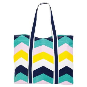 SUNNYLIFE / Sunny life canvas big tote bag beach bag