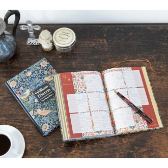 William Morris Strawberry Thief 5-year diary