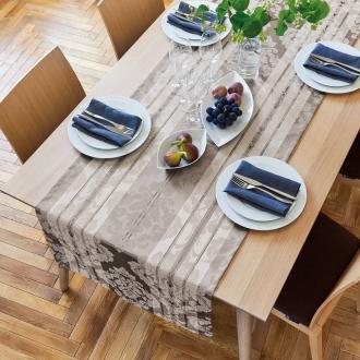 60×180cm(撥水加工 ジャカード織のクロスシリーズ 幅広テーブルランナー)