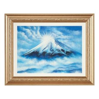 看那浅田老师监督风水画山。