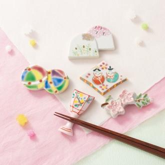 京京日本女儿节筷子休息集