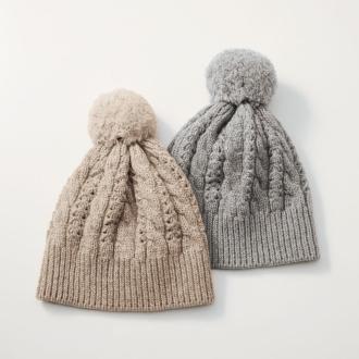 オーガニックニット帽子