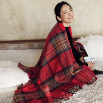 羊絨斜紋大型毛毯