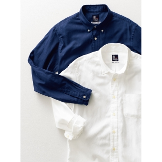 「GIZA88」 ボタンダウンオックスシャツ