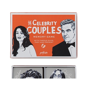 Card game Celebrity Couple Memory Game