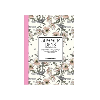 Wrapping paper book-type 12 pieces Summer Days