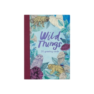 Post card set book-type 20 sheets Wild Things