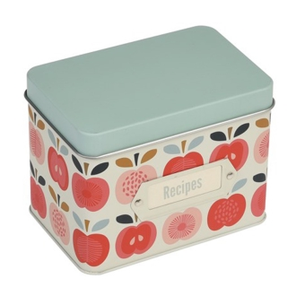 Square canister cans vintage Apple