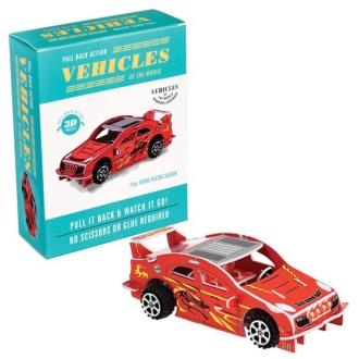 紙3D拼圖賽車