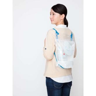 背負う水袋 2個セット【防災用品 断水】