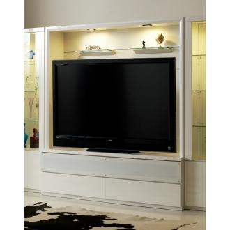 美しくディスプレイできる収納システム テレビボード 幅160cm【52~60インチ型液晶テレビ収納可能】