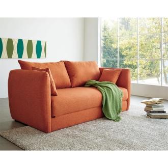 ディノス オンラインショップシエスタスタイル ベッドカバーが外せる布張りソファベッド