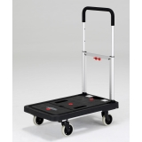 [The cart a tire can also fold up] ALINCO/ Alinco  The slim carry  KLC.