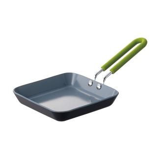 绿色泛迷你煎锅广场