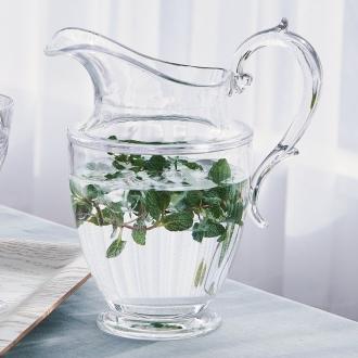 MARIOLUCA / Marioruka glass Series pitcher one made of resin
