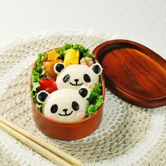 パンダおにぎりセット【キャラ弁 お弁当グッズ】
