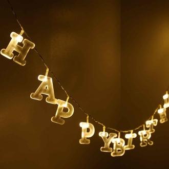 ディノス オンラインショップBRUNO ブルーノ アルファベットガーランドライト(防滴仕様)