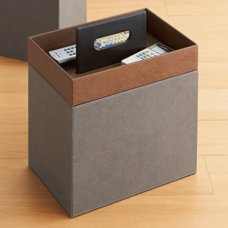 Fake storage series tray with magazine stocker