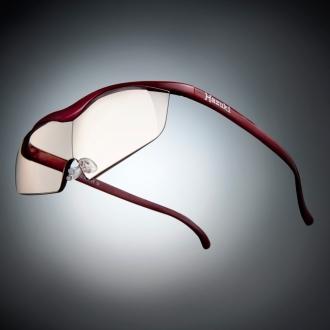 Glasses type magnifier loupe Hazuki Large 1.6 (blue light cut 55%)