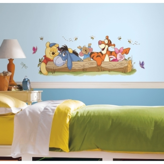Disney Pooh & Friends Giant/ディズニー プーと友達ジャイアント 壁用ステッカー