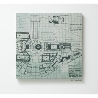 约41×41厘米STAR WARS /星球大战织物面板的[所有6种型态]