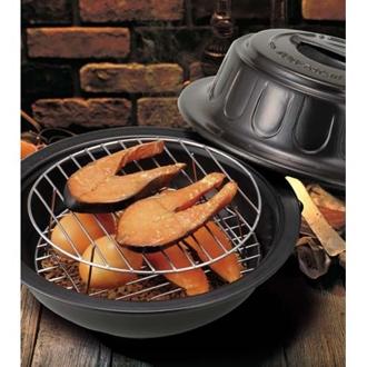 おうちで簡単!熱燻製お手軽燻製鍋(スモークチップ5袋付)