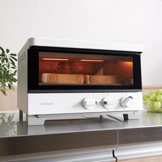 siroca/シロカ ハイブリッドオーブントースター ST-G111 ホワイト/ブラウンホワイト