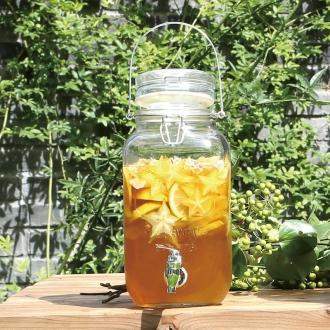 DULTON /道爾頓果汁服務器玻璃瓶