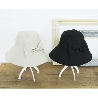 Oritatamerutsuba wide UV hat