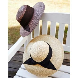 田中帽子店の細麦の麦わら帽子