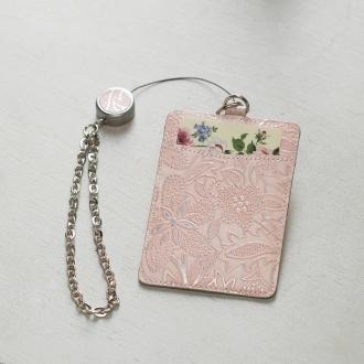 卷帶票卡按花型