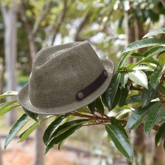 意大利製造的涼意壓碎的帽子(男子)