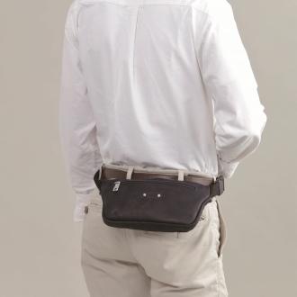 法国制造的小腿纤细的腰身袋