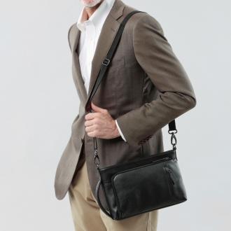软管皮革手包单肩包