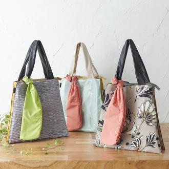不同材料的组合手提袋与储存袋