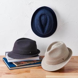 [Men's] Don Bell mode washable silk Tsukai of stone eyes knitting in broken hat