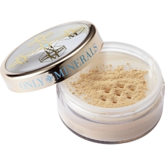 Only mineral SPF50 medicated whitening foundation 2.5g