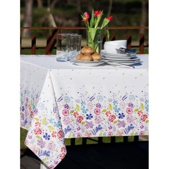 スペイン製花柄テーブルクロス 約150×150cm