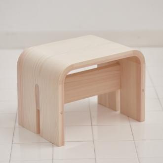 木曽檜の風呂椅子 小(ロー)[小泉誠・ambai]