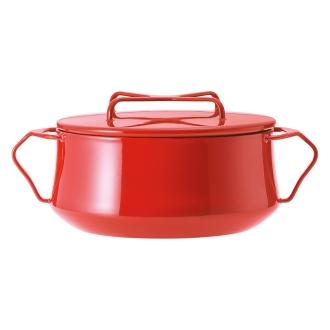 DANSK /丹麥語Koben式搪瓷鍋兩手鍋直徑18厘米(容量2.2L)
