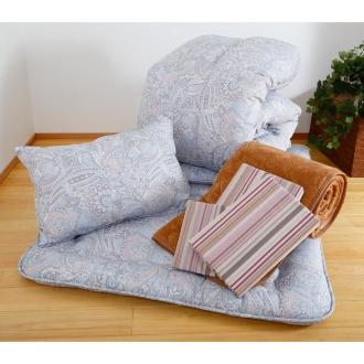 昭和西川 柄任せ特別7点セット寝具 シングルサイズ