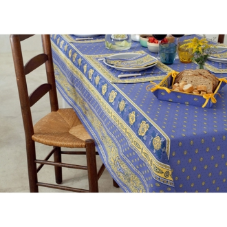 About 150 × 200cm (French-made water-repellent table cloth <Bastille>)