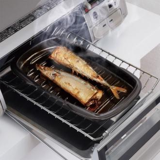 Ceramic grill roaster