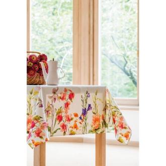 約150×250cm スペイン製花柄テーブルクロス