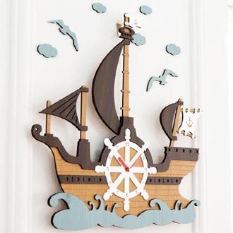 Mo:ro 掛け時計 Sea Travel