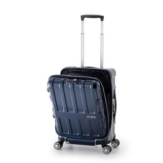 MAXBOX ALI-1522 フロントオープンハードキャリーバッグ 36L 3.6kg