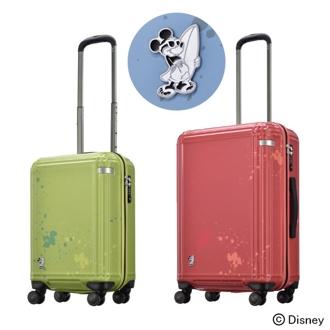 ace. サーフィンミッキー スーツケース/キャリーバッグ 32L 3.3kg
