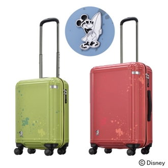 ace. サーフィンミッキー スーツケース/キャリーバッグ 60L 4.2kg