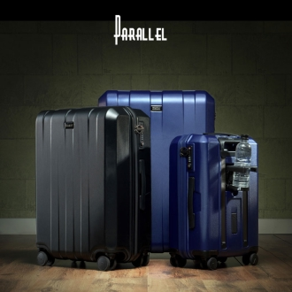 (68L 3.69kg)Stratic「PARALLEL」 ハードスーツケース/キャリーケース 中型